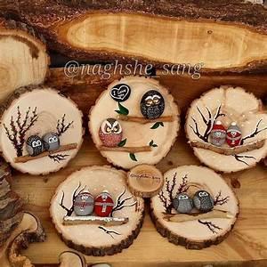 Basteln Mit Baumscheiben : 75 besten baumscheiben bilder auf pinterest steinmalerei ~ Watch28wear.com Haus und Dekorationen
