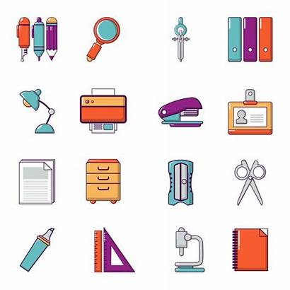 Cartoon Stationery Icons Icon Marker Pen Pngtree