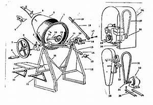 Craftsman Homart Utility Mixer Parts