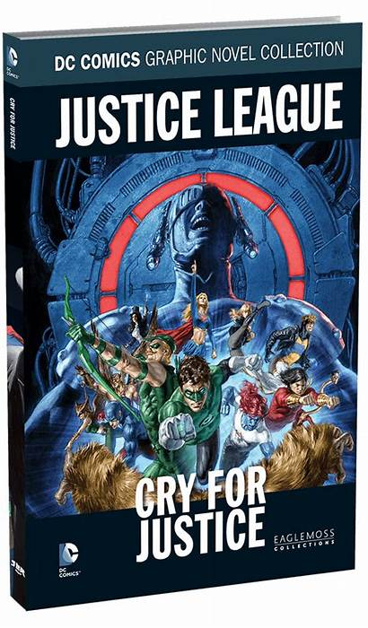 Dc Heroes Eaglemoss Graphic Novel Comics Justice