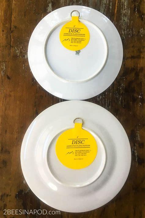 hang plates   wall     good  bees   pod plates hanging plates