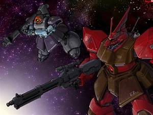 Gelgoog Jaeger and Rick Dom II by RyujinDX on DeviantArt