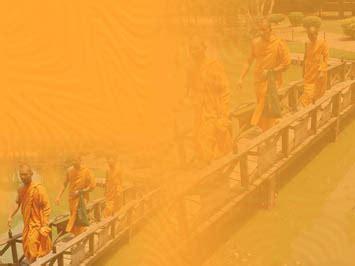 buddhist monks  powerpoint templates