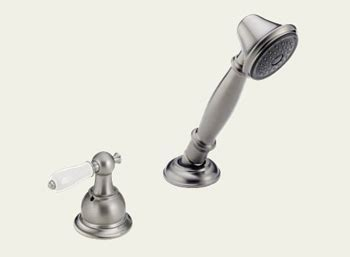 Delta RP33791SSLHP Victorian Roman Tub Hand Held Shower
