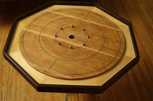 Hand Made Crokinole Board by Black Antler Woodworking