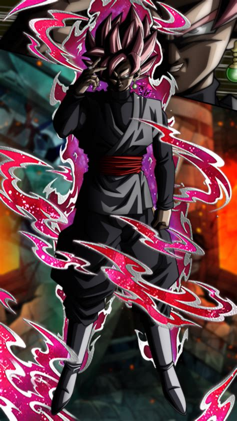 hellraiser   future goku black super saiyan rose