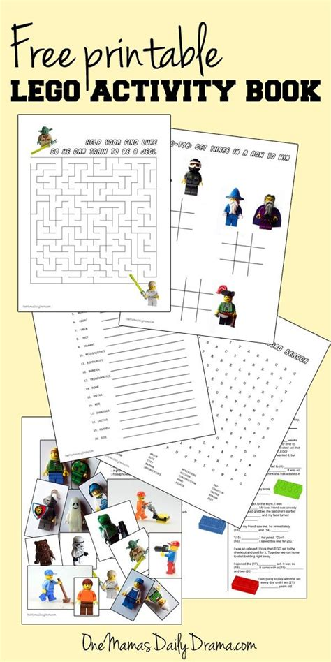 printable lego activity book best of one mama s daily