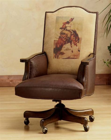 Executive Dimension Chair: Western Passion