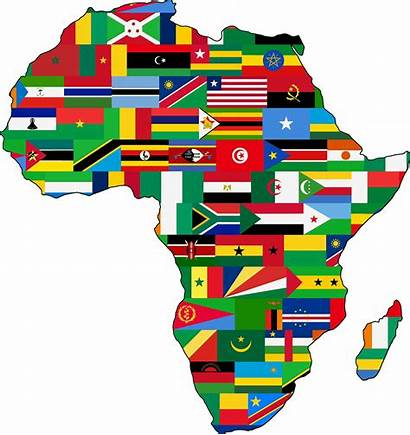 Africa Flags Clipart Svg