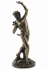 Dancing Faun Satyr Roman Greek Mythology Statue Pagan ...