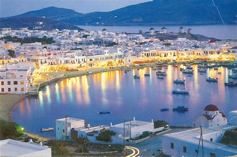 Mykonos Island Greece Most Beautiful Places In The World