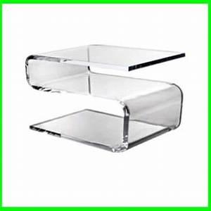 Table Basse En Plexiglas : plexiglas table basse avec plateau table basse id du ~ Teatrodelosmanantiales.com Idées de Décoration