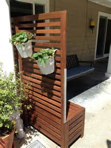sichtschutz am balkon applaro free standing bench and trellis hack ikea hackers ikea hackers
