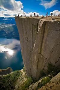 To Norway: Preikestolen cliff