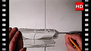 Comment Dessiner La Mer : comment dessiner un petit voilier sur un lac youtube ~ Dallasstarsshop.com Idées de Décoration