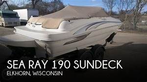 For Sale  Used 2002 Sea Ray 190 Sundeck In Elkhorn