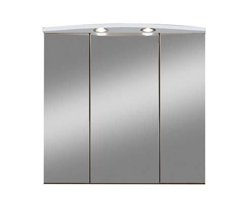spiegelschränke bad günstig bad spiegelschrank 3 t 252 rig mit beleuchtung 70 cm breit wei 223 bad spiegelschr 228 nke