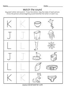 letter    sounds matching phonics worksheets