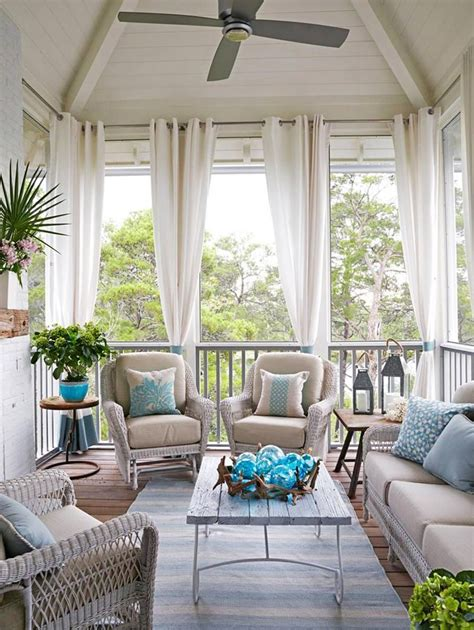 25 best ideas about screened porch curtains on
