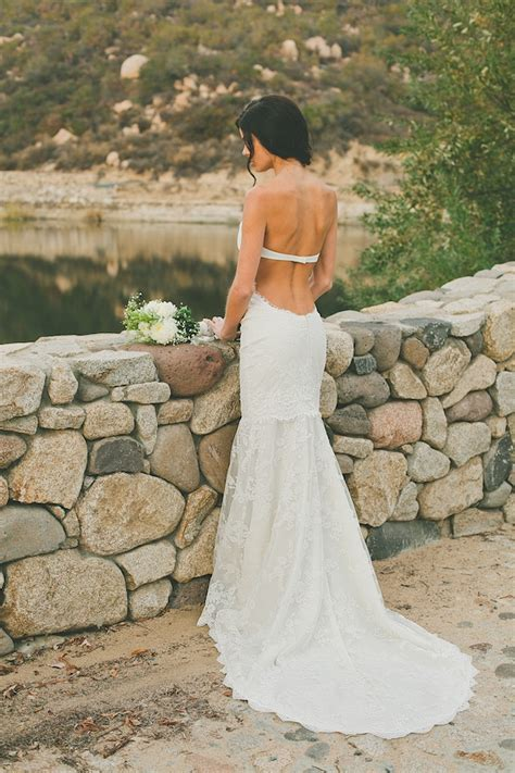 Saturday Style Backless Wedding Dresses By Katie May
