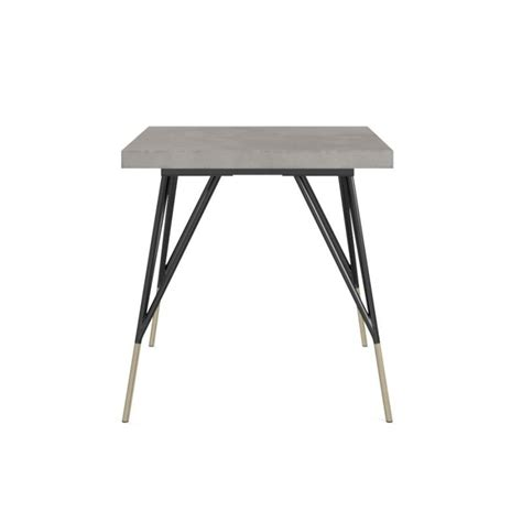 Buy Outdoor Table by Smeaton Small Outdoor Dining Table In Cement Buy
