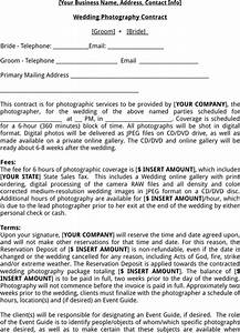 download photography contract template for free formtemplate With wedding photography contract pdf