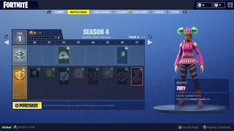 fortnite season  battle pass skins revealed