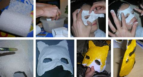 Fabriquer Un Masque En Plâtre, Pour Carnaval Ou Fête