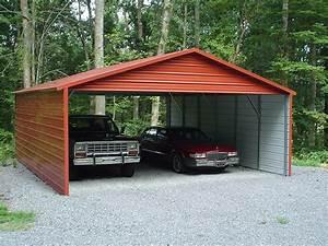 Carport 2 Autos : 20 x 31 x 9 metal carport delivered installed two car ~ A.2002-acura-tl-radio.info Haus und Dekorationen