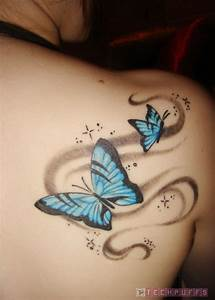 Tattoos Back Tattoos: Tribal Upper-Back Tattoo Designs