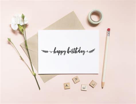 happy birthday card envelope southern bride