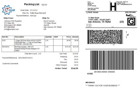 Fedex Label Template Word by Shipping Ecommerce Orders With Fedex Atandra Makers Of