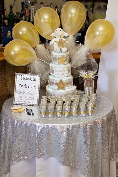 twinkle  star baby shower party ideas baby baby