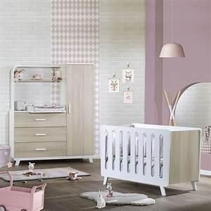 Meuble Chambre Bébé : chambre b b duo elfy lit meuble combin de sauthon meubles sur allob b ~ Teatrodelosmanantiales.com Idées de Décoration