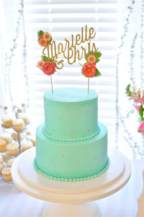 603 Best Mint Weddings Images On Pinterest