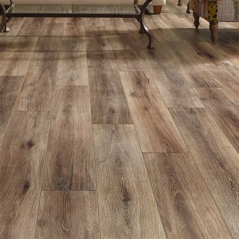 plastic laminate flooring reviews mannington restoration wide plank 8 quot x 51 quot x 12mm laminate flooring in brushed coffee reviews