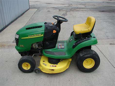 Deere L110 Mower Deck Adjustment by Deere L110 Lawn Garden And Commercial Mowing