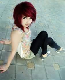 Sexy Short Emo Hair