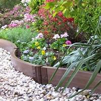 flower bed edging 25 Garden Bed Borders, Edging Ideas for Vegetable and Flower Gardens