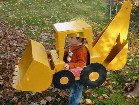 Halloween Costume of the Day: Backhoe Loader Parenting