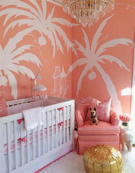 Walmart Dressers With Mirror by The Glam Pad A Nursery For A Palm Beach Princess
