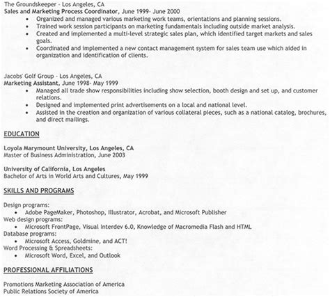 Curriculum Vitae Work Experience Format by Resume Template For Work Experience Free Resume Templates