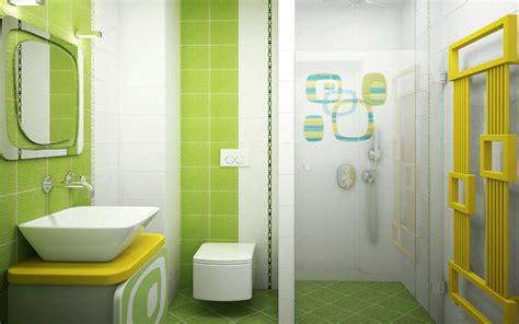 Design Minimalist Bathroom Ideas with Green Color 5
