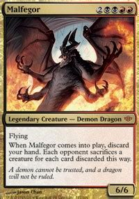 malfegor conflux magic the gathering online gaming