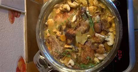 recette lapin vin blanc champignons  carottes en video