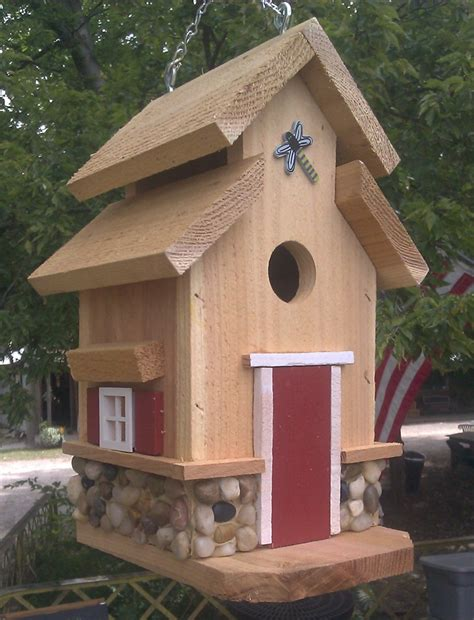 custom hand  bird houses  linda rabold bird house