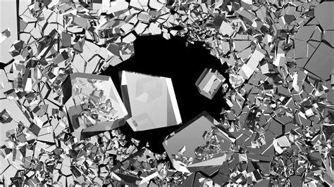 Broken Animation Wallpaper - broken glass background 183