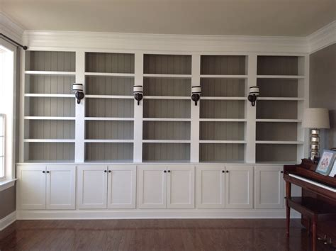 Build Wall Bookcases by Right Up My Alley Library Reveal