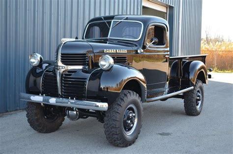 Black 1947 Dodge Power Wagon For Sale   MCG Marketplace
