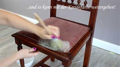 Möbel Bemalen Welche Farbe by Stoffe Mit Kreidefarbe Anmalen Der Test